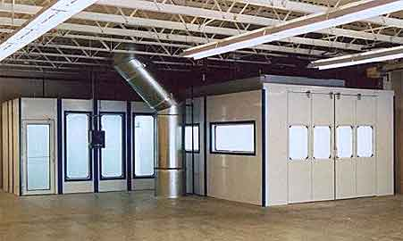 Voc Containment Systems And Paint Booths